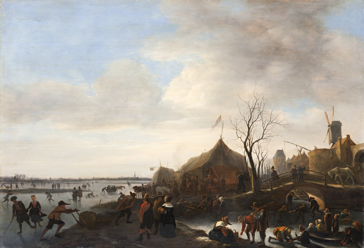 Winter Scene by Jan Steen 1650