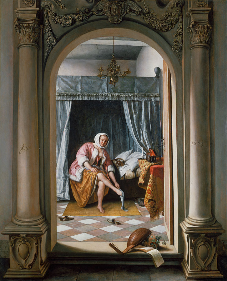 The Doctor's Visit by Jan Steen 1665