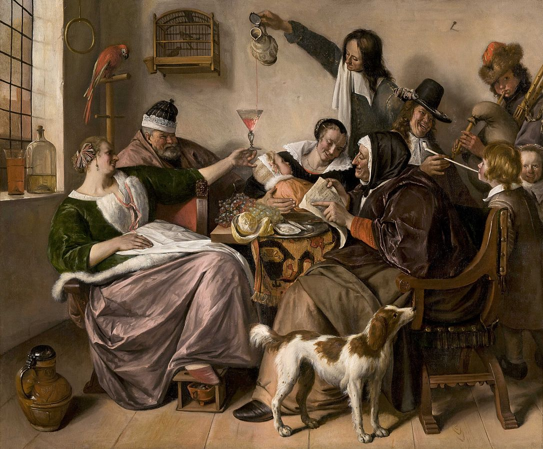 The Way You Hear It by Jan Steen 1665