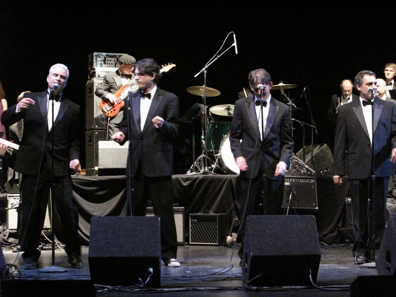 Motown Tribute at Sondheim Theater Fairfield Convention Center, January 29, 2010